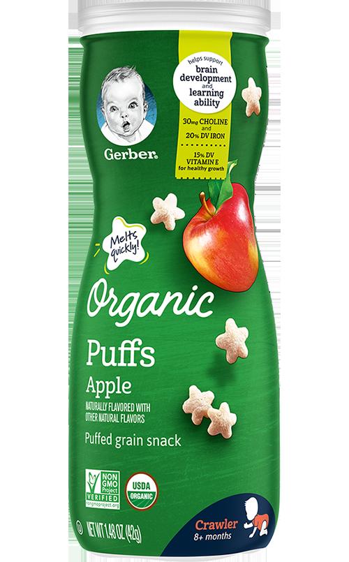 Organic Puffs Apple