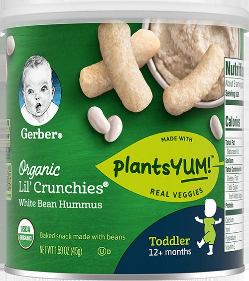 Organic Lil' Crunchies White Bean Hummus