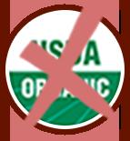 Not USDA Organic